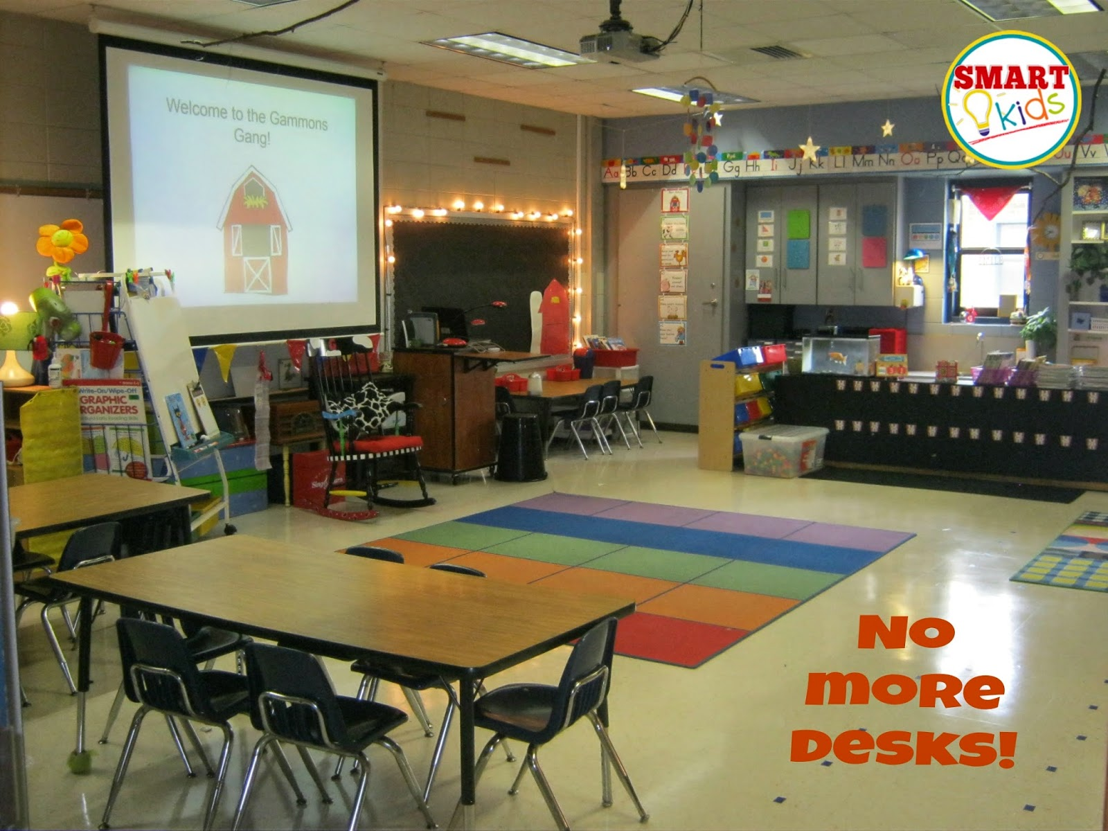 Smart Kids Bright Ideas Floor Desks Replace Furniture