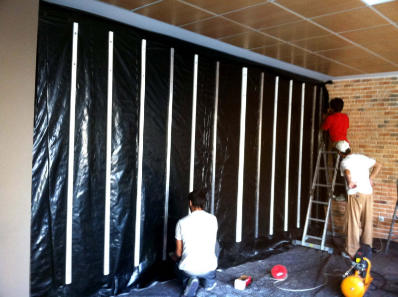 Muro sustentable - Estructura jardin vertical ...