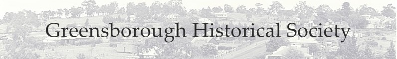 Greensborough Historical Society