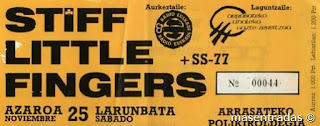 entrada de concierto de stiff little fingers