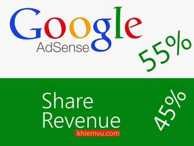 Google Adsense Share Revenue