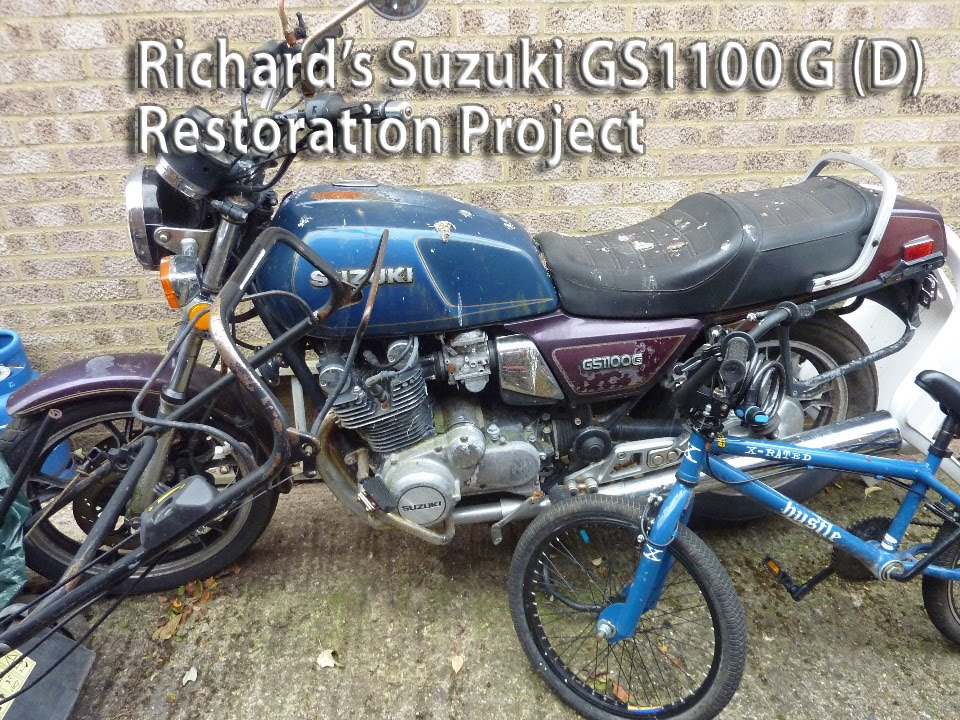 Suzuki GS1100 G Restoration Project