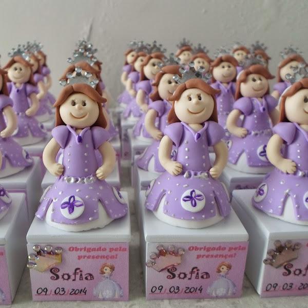 Lembrancinhas da Princesa Sofia
