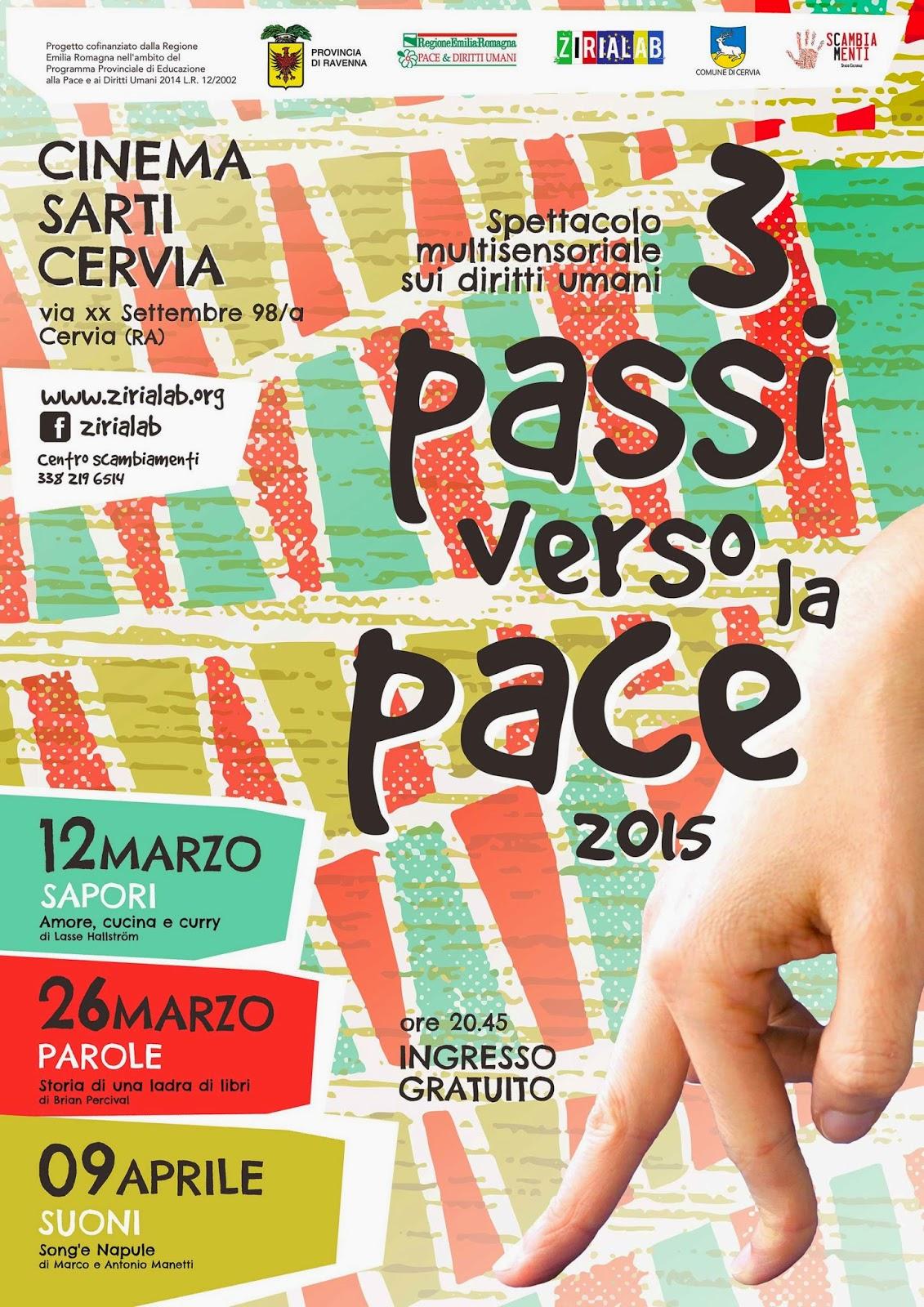 locandina 3 Passi Verso La Pace