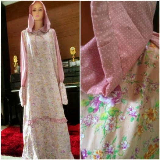 OMG Baju Muslim Mooi Q Mukena Terusan Katun Jepang