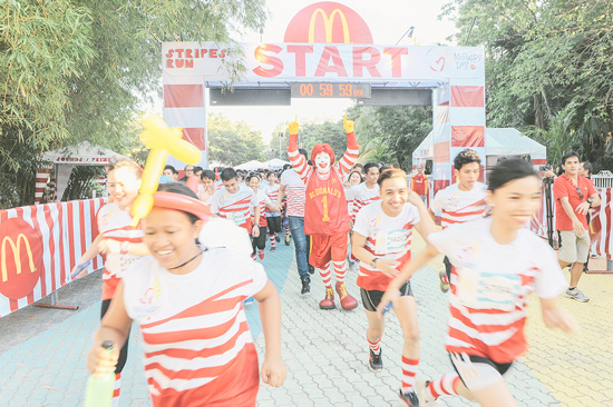 DAVAOENOS RUN FOR A CAUSE IN THE FIRST REGIONAL #MCDOSTRIPESRUN