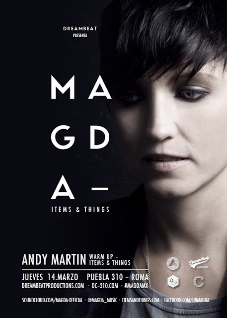 MAGDA [Items & Things] en el Disco Club 310 #MagdaMX