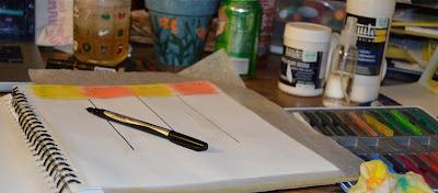 creating my own calendar and art journal
