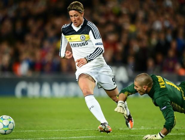 Gol de Fernando Torres na Liga dos Campeões