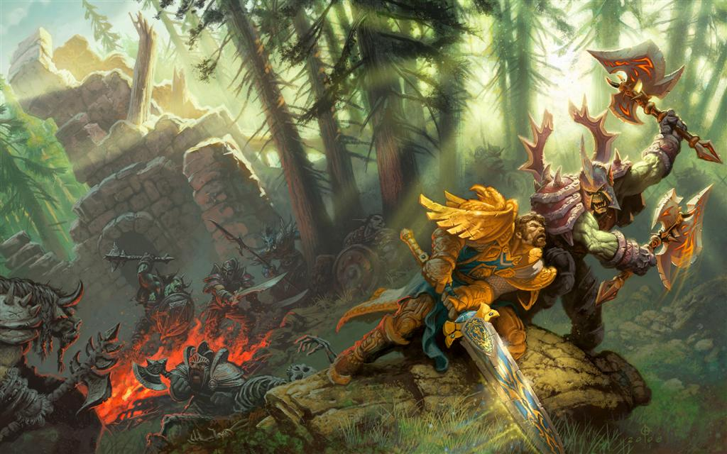 World of Warcraft HD & Widescreen Wallpaper 0.648785713088649