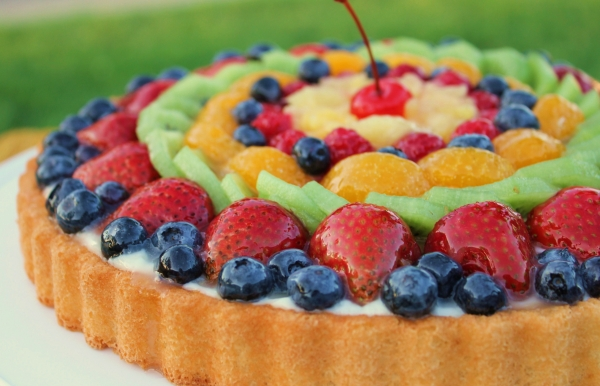low sugar fruits healthy fruit birthday cake