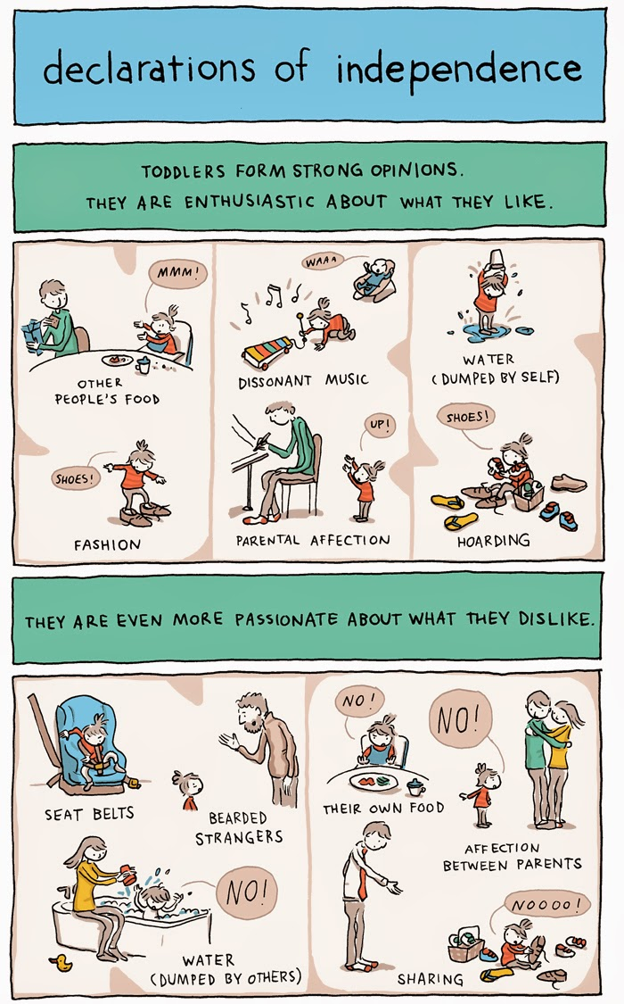 toddler declarations of independence by grant snider