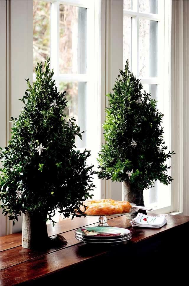 El jard n de judith navidad de buen ag ero con guirnaldas - O arbol de navidad ...