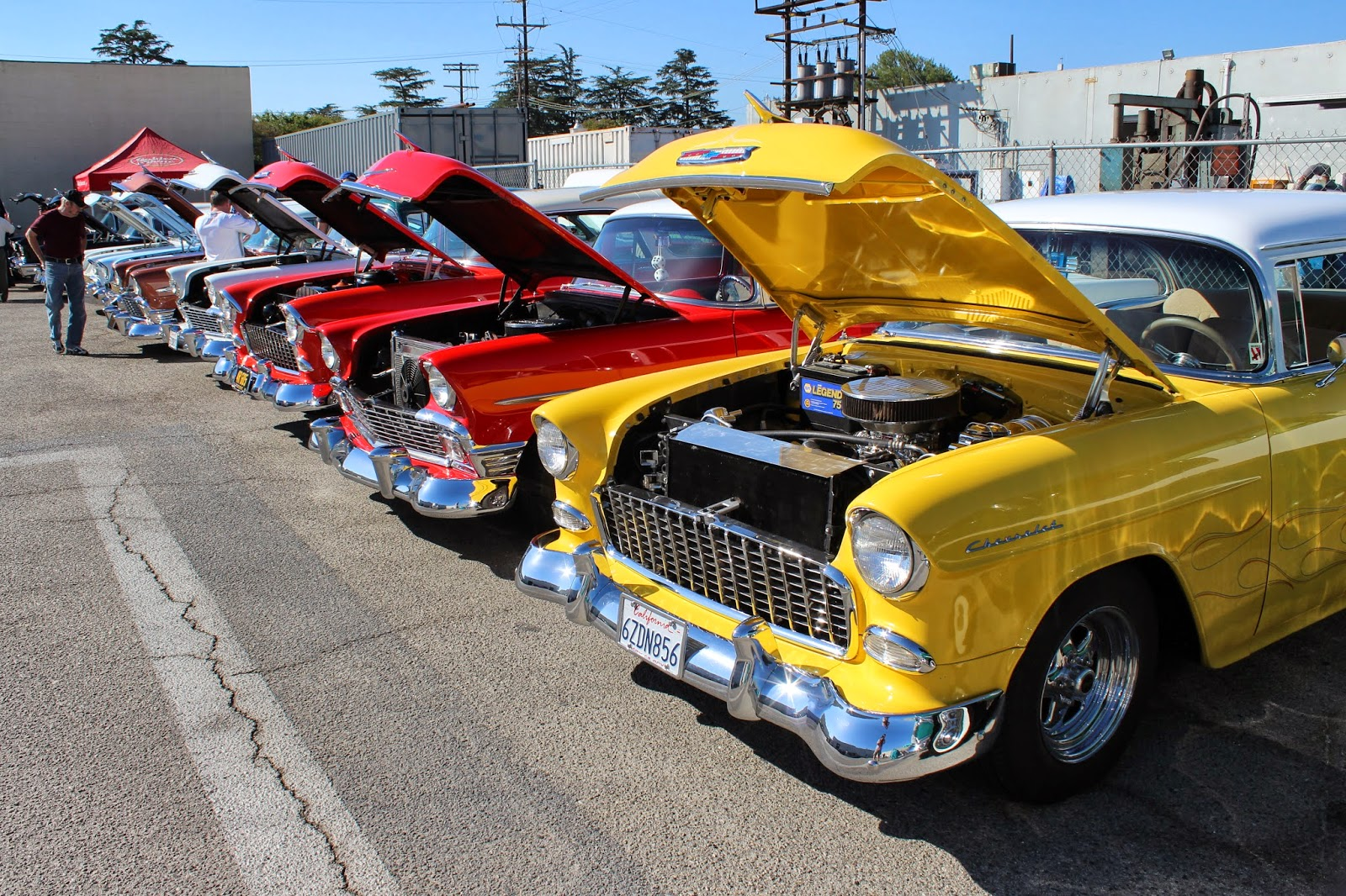 Covering Classic Cars Classic Chevy Car Show At California Car Cover - Classic car show california