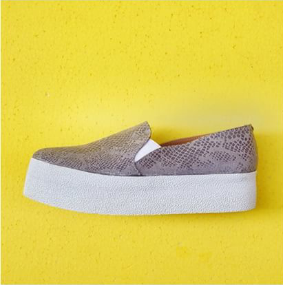 Current trend : slip on shoes!