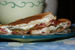 Bacon & Jalapeno Popper Grilled Cheese Sandwich