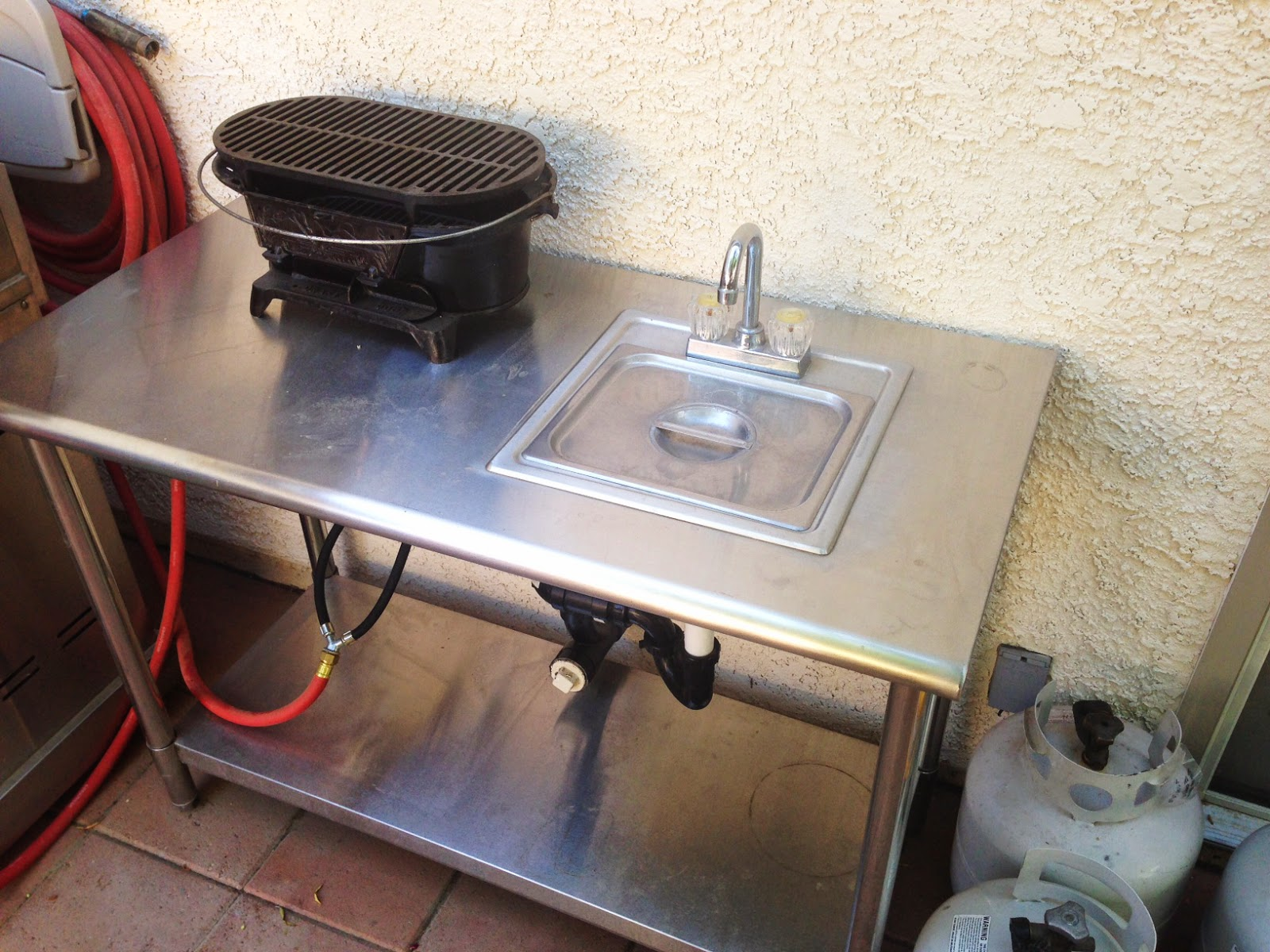 toponautic outdoor news events recipes diy outdoor bbq sink