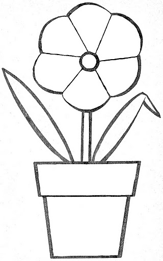Simple Objects Coloring Pages