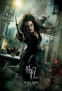 Harry Potter and the Deathly Hallows: Part 2 Character Movie Poster Set - Helena Bonham Carter as Bellatrix Lestrange