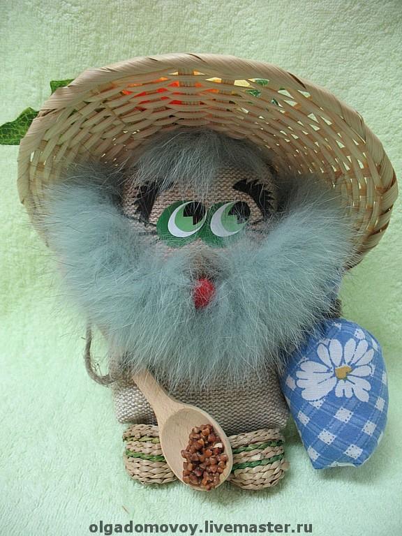 Одуванчик с голубой бородой