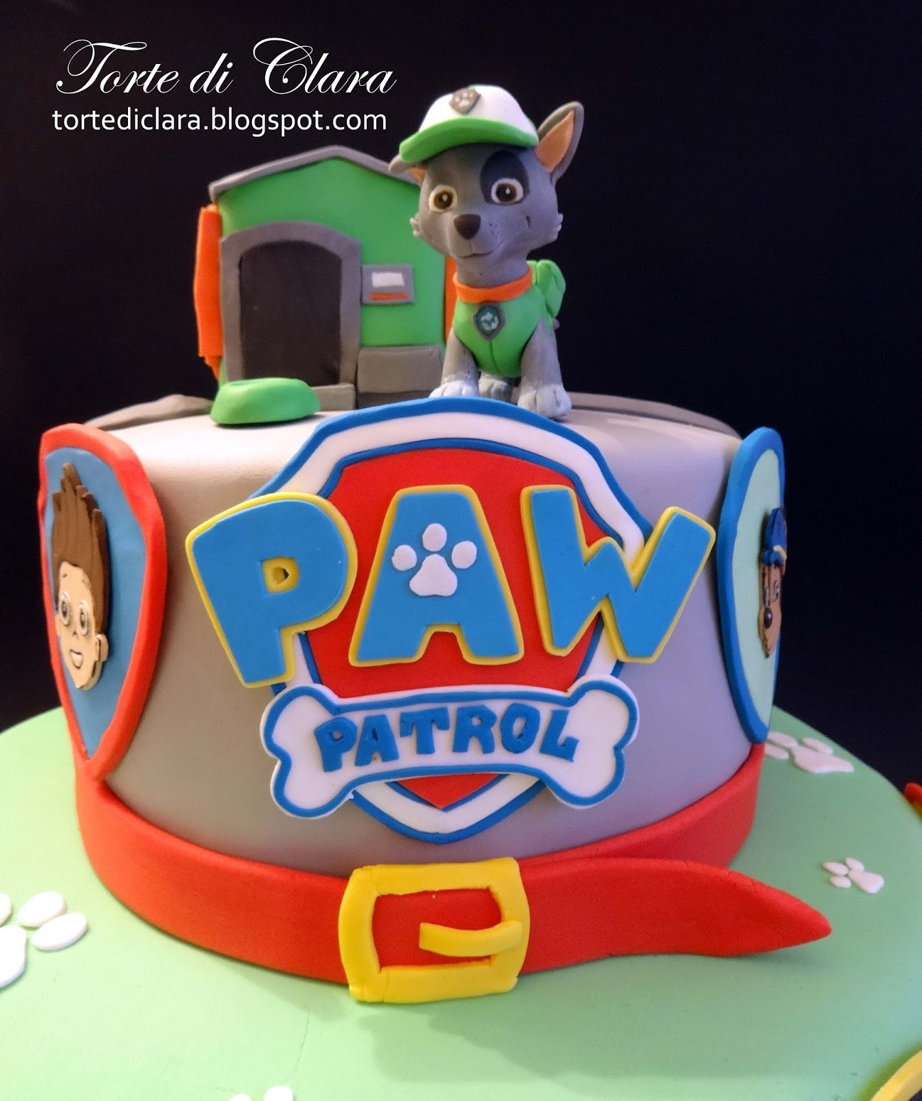 Paw Patrol Edible Cake Topper Image Decoration By Heavenlycaketoppers