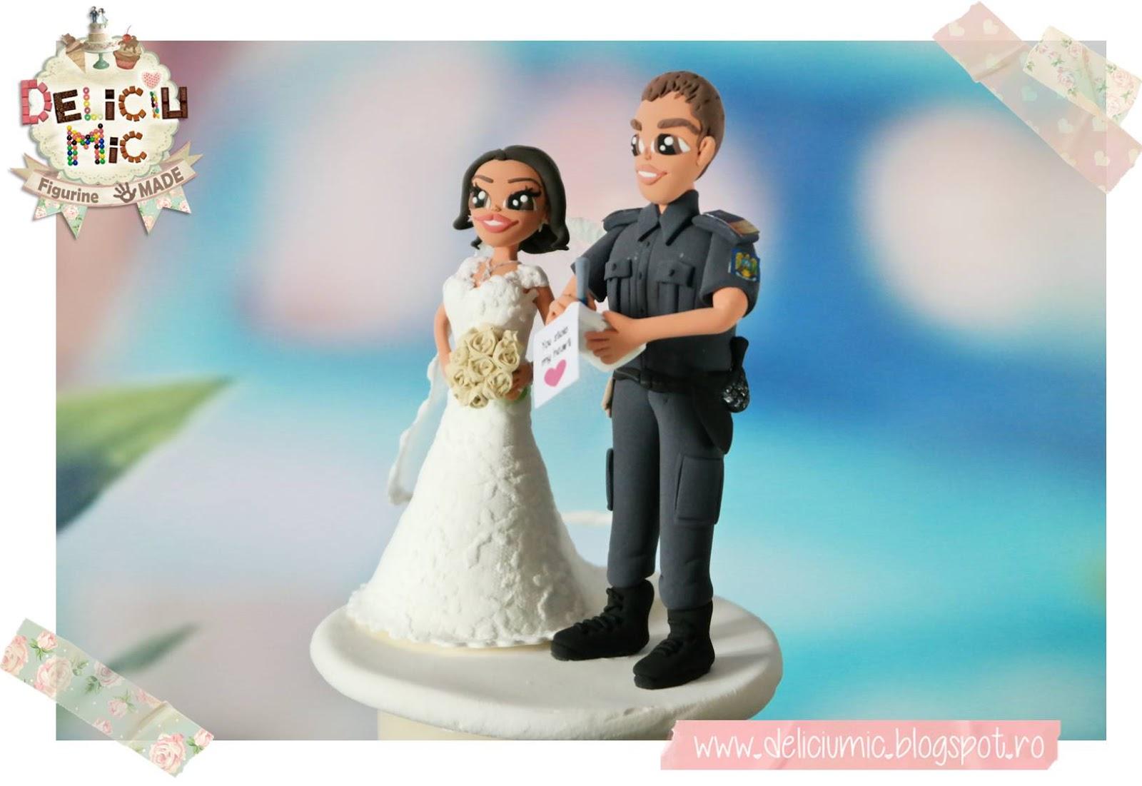 Figurina tort jandarm