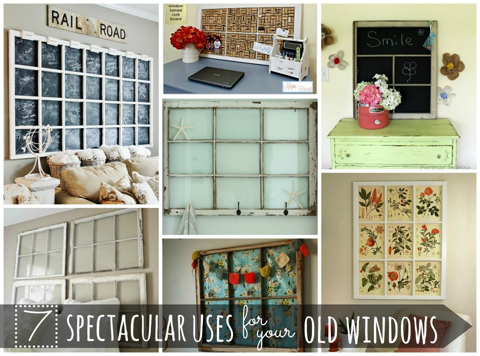 & 7 Spectacular Uses For Old Windows