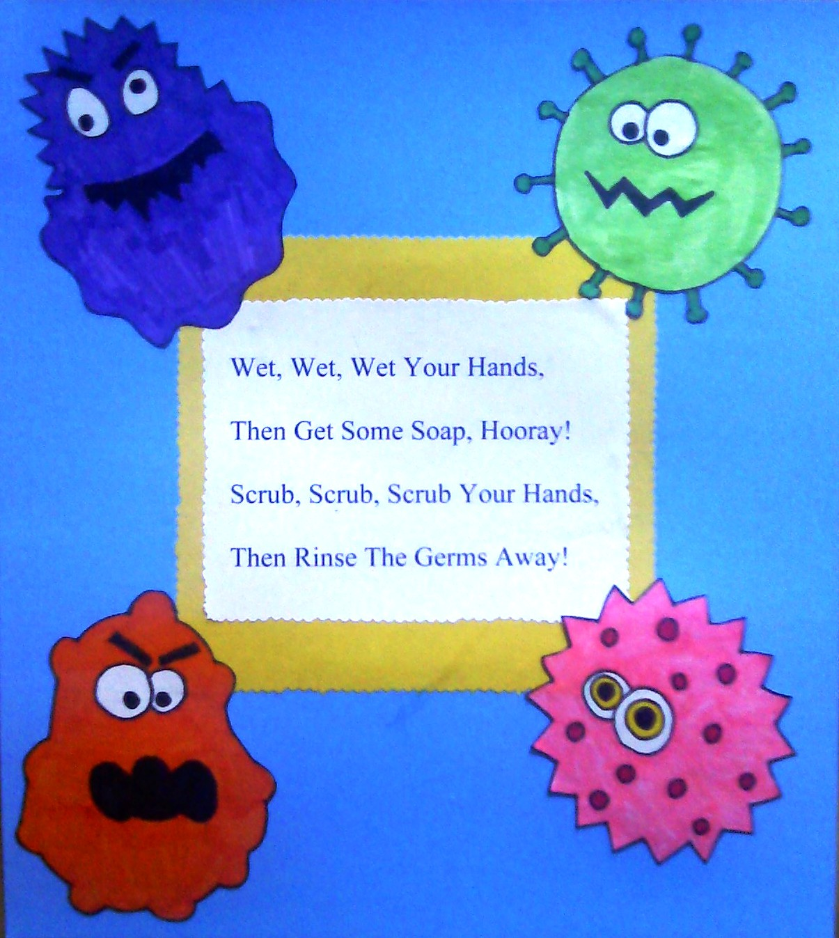 Germ Curriculum for kids on Pinterest | Hand Washing ...