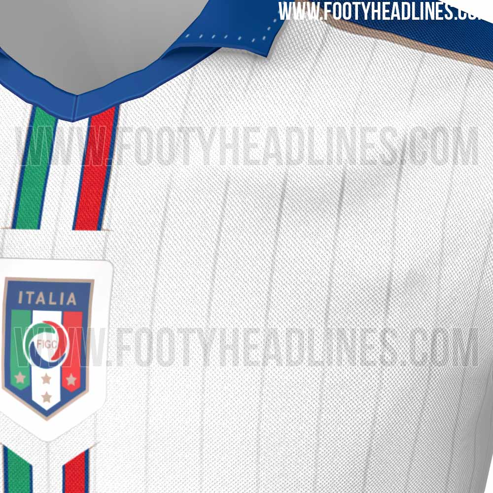 Italy euro 2016 away kit leaked footy headlines for Italian kit