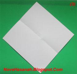 Cara Melipat Origami Anjing untuk SD 2