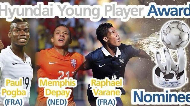 اللاعبين المرشحين للفوز بجائزة افضل لاعب شاب في المونديال