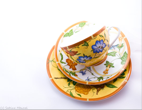Psynopsis MyFavouriteThings Hermes Cup and Saucer