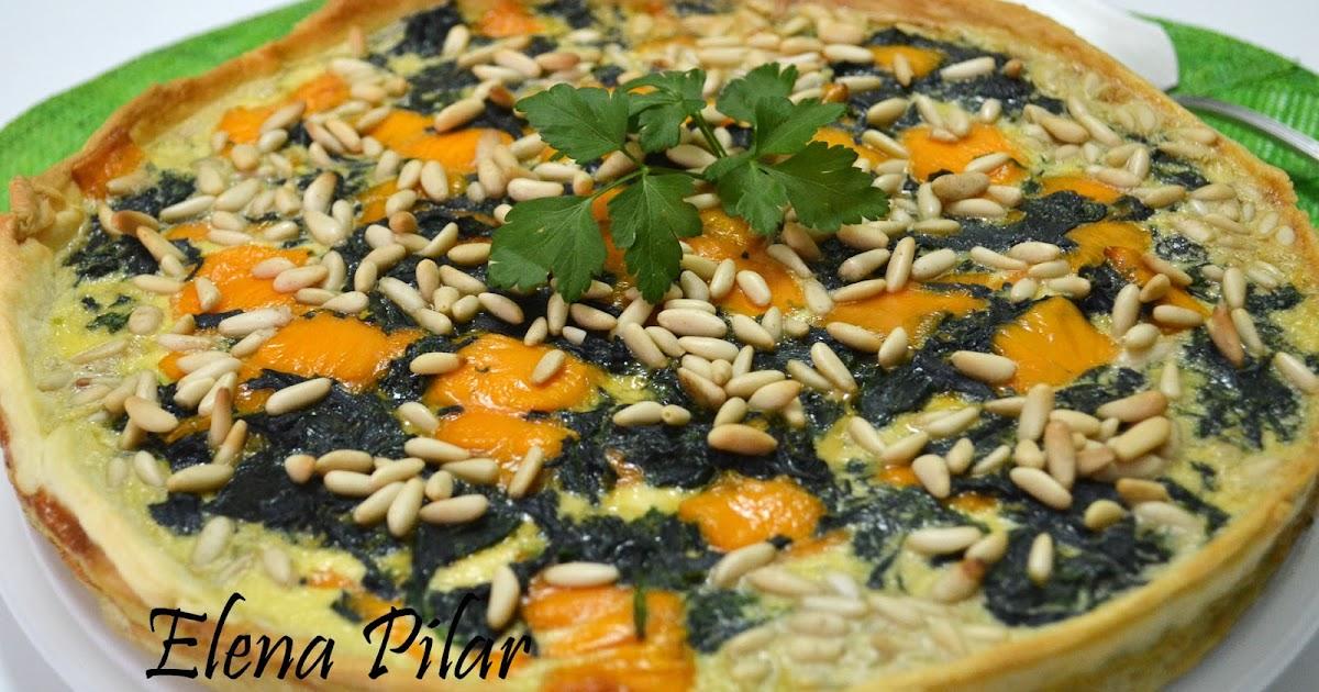 Mi recetario por elena pilar tarta de espinacas y queso for Espinacas como cocinarlas