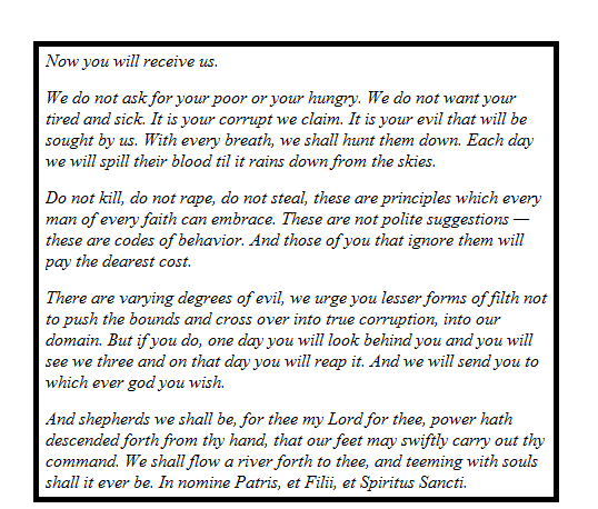 boondock saints essay example Improve your reasearch with over 5 pages of premium content about the boondock saints for example endure a lot of pain related essays on the boondock saints.