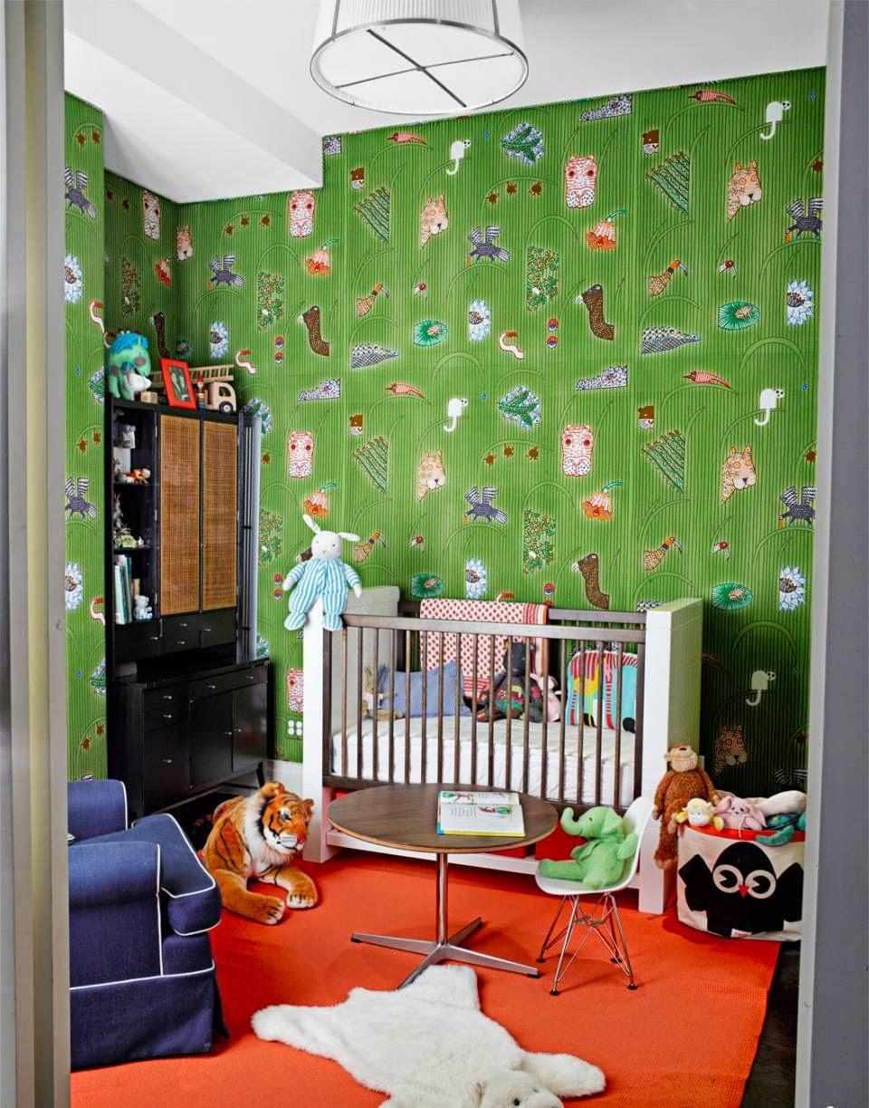 Hogares frescos 10 ideas para ponerle color al dormitorio for Home wallpaper nigeria