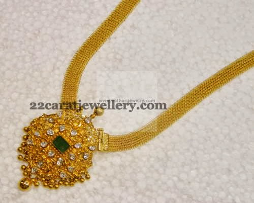 gold necklace by kothari jewelry jewellery designs