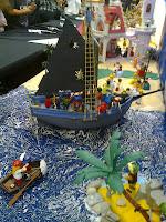 Pequeño barco actual