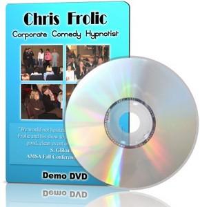 Brinde Gratis DVD Comédia com Chris Frolic
