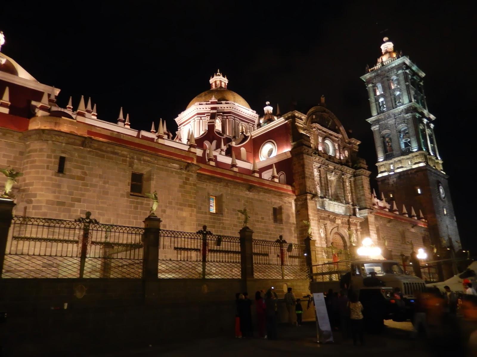 catedral, puebla