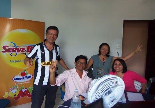 Entrevista na rádio Piemonte FM de Jânio, candidato a vice-prefeito de Beto.
