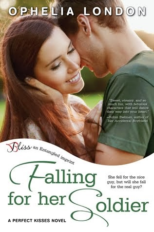 Falling for her Soldier (Perfect Kisses #3)