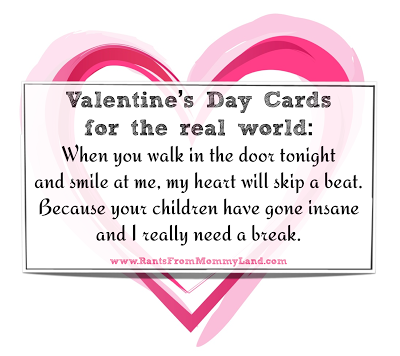 Light Skinned Mother Will You Be Your Valentine – Funny Valentine Card Messages
