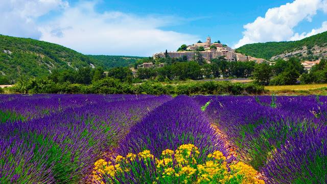 mua ve may bay di phap- Provence quyến rũ