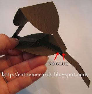 flowerpot pop up card construction