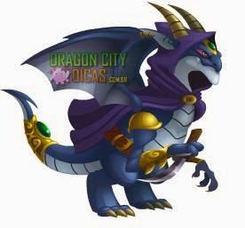 Dragão Elfo Negro