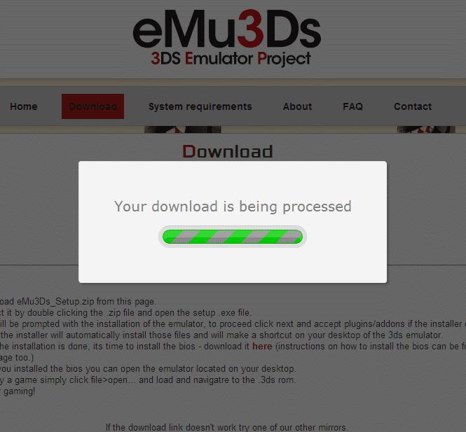 3ds emulator bios download zip