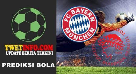 Prediksi Bayern Munchen vs Olympiakos Piraeus