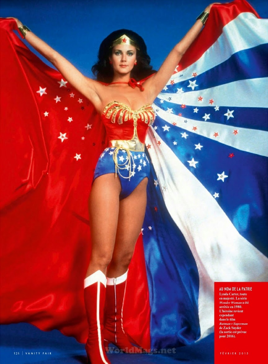 Actress, Soundtrack: Lynda Carter by Wonder Woman for Vanity Fair France