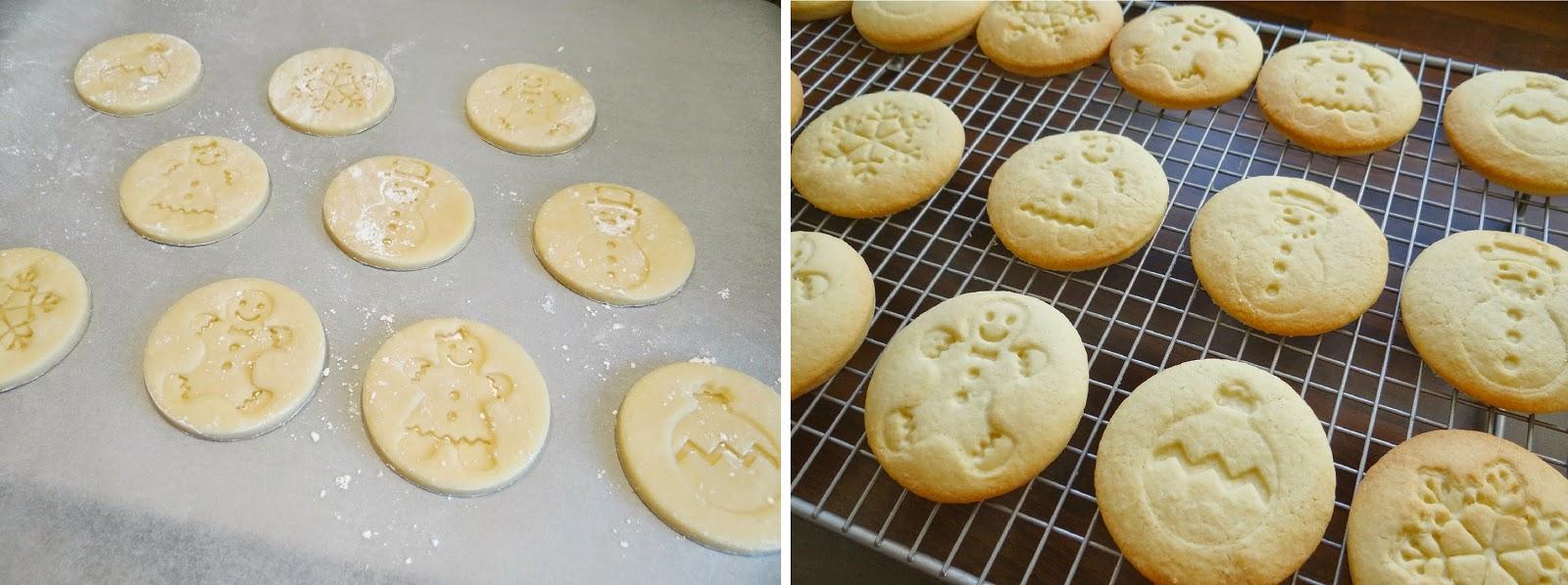 Christmas Baking, Chef'n Winter Cookie Stamp, handmade Christmas Gifts