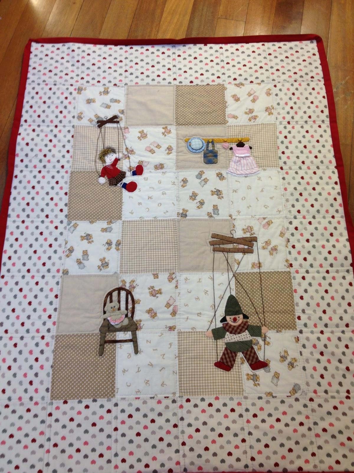 Quilt art patch nuevas colchas infantiles - Colchas patchwork infantiles ...